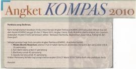 Angket Pembaca Kompas 2010