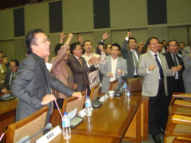 FPG DPR-RI Jelang Rapat Paripurna 3 Maret 2010 02 (Dwikis Dok)