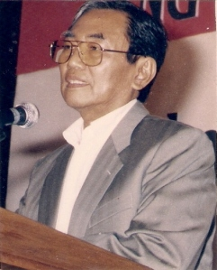 Prof DR Nurcholish Madjid (Photo by Dwikis)