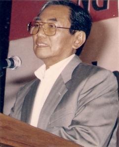 Prof DR Nurcholish Madjid (Photo by Dwikis)