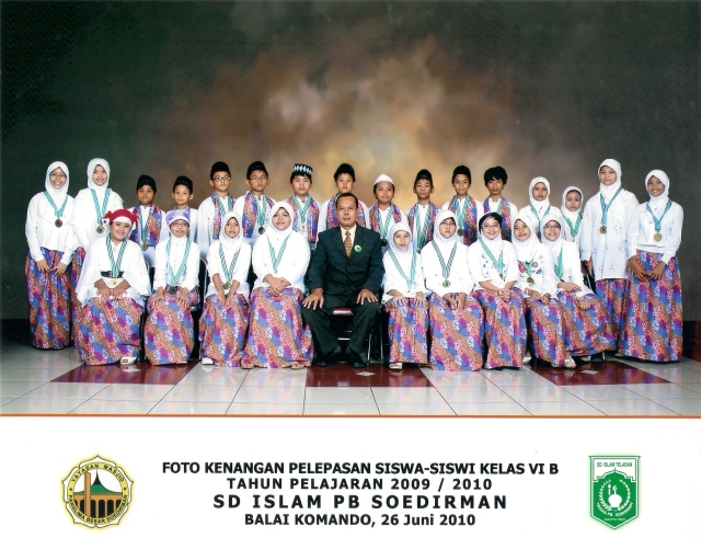 Galeri Foto Pelepasan Siswa Kelas VI B SD Islam PB Soedirman