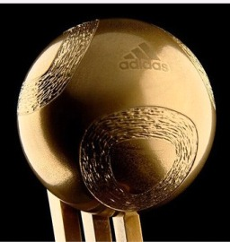 Golden Ball Trophy (http://www.fifa.com)