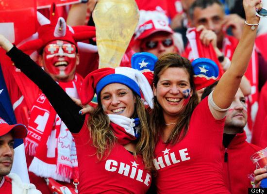 Suporter Cantik Sepak Bola Chili 02