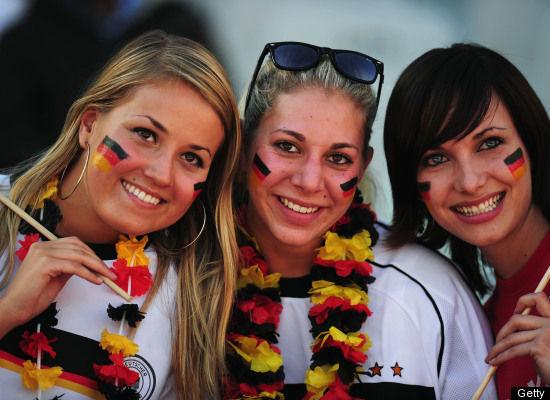 Suporter Cantik Sepak Bola Jerman