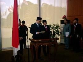 Ketua DPR-RI Marzuki Alie (Foto: Dwikis)
