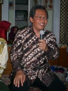 Ravik Karsidi saat Acara Reuni HMI Solo se-Jabotabek 06 (Foto: Dwikis)