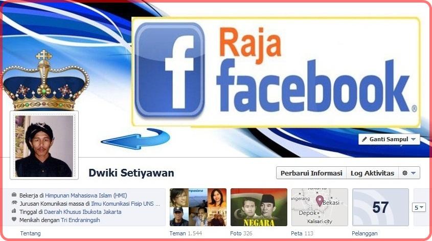 Facebook timeline atau kronologi facebook merupakan salah satu