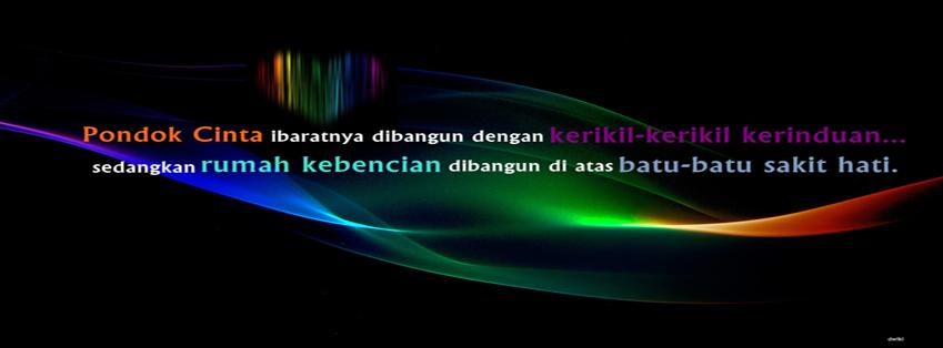 Foto Sampul Kronologi Facebook Timeline Pondok Cinta