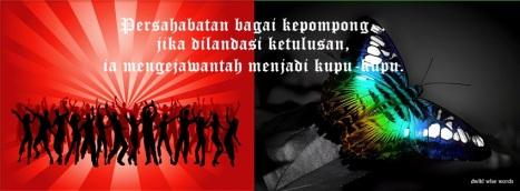 Foto Sampul Kronologi Facebook Keren Persahabatan Kepompong Kupu-kupu