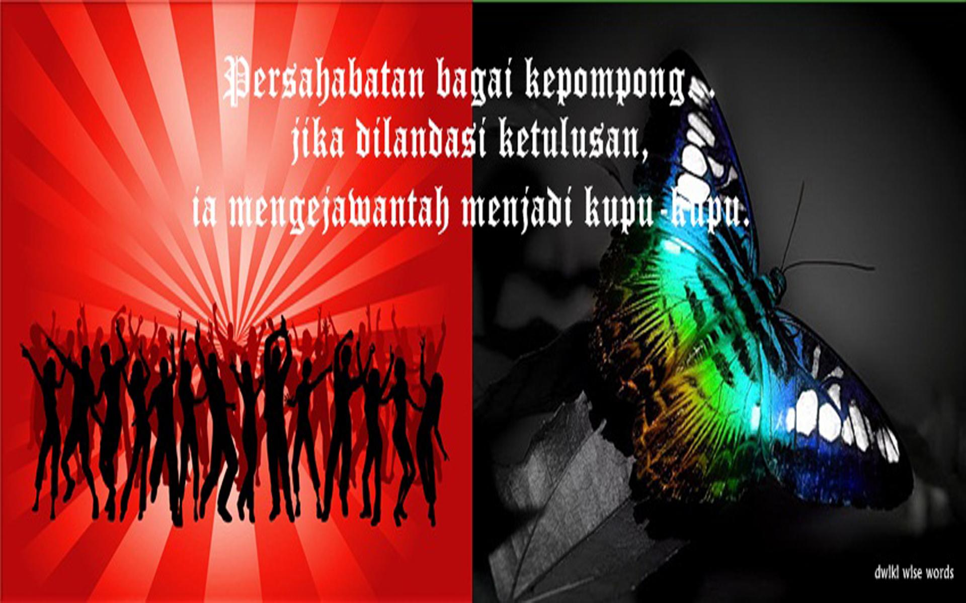 Foto Sampul Kronologi Facebook Keren Persahabatan Kepompong Menjelma