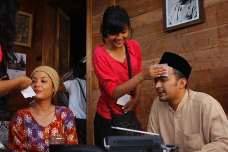Negeri 5 Menara Lulu Tobing & David Chalik Behind the Scene