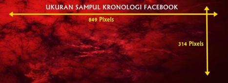 Ukuran Foto Sampul Kronologi Facebook