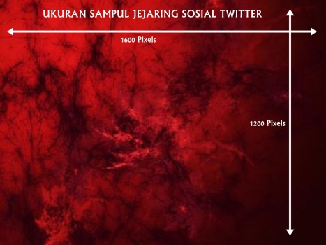 Ukuran Sampul Jejaring Sosial Twitter