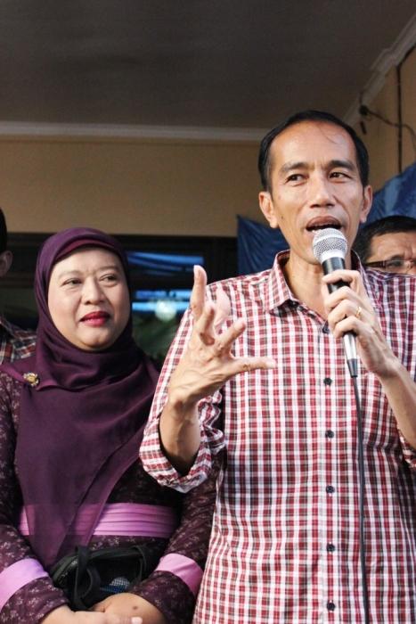 Ibu Rantini dan Pak Jokowi (Foto: Dwikis)