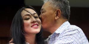 Angelina Sondakh dan Lucky Sondakh (Foto Dany Permana Kompas.com)