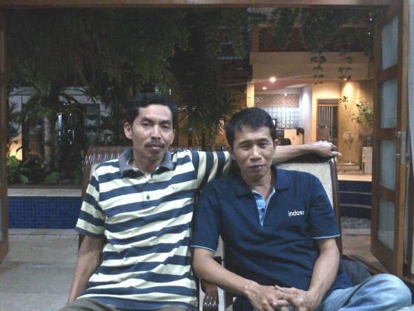Ahmad Tsabit dan Dwiki Setiyawan di Rumah Pergerakan