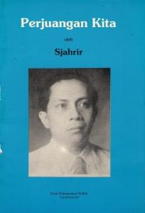 Cover Buku Perjuangan Kita Sutan Sjahrir