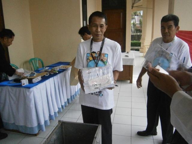 Surat Suara Pemilihan Umum Presiden dan Wakil Presiden (Pilpres) Indonesia