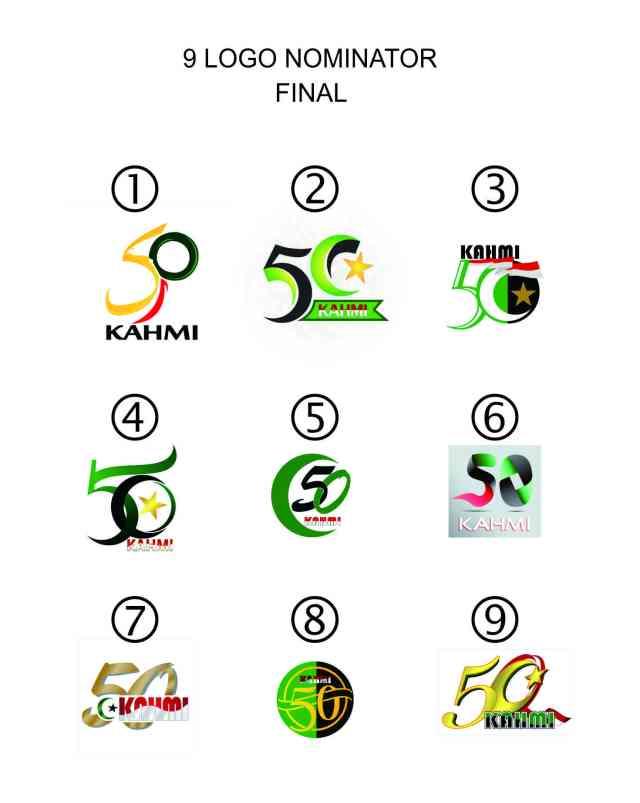 9 Nominasi #Logo50TahunKAHMI