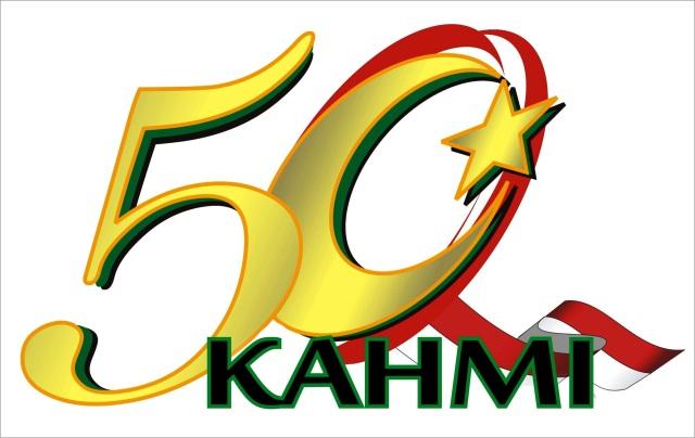 Logo Resmi HUT ke-50 KAHMI